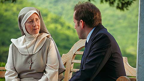 Sister Anne (GEMMA JONES) and DI RIchard Poole (BEN MILLER)
